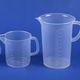 vaso de precipitados de polipropileno / de laboratorio / graduada