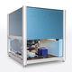 sistema de automatización de laboratorio para la manipulación de polvos / robotizada