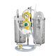 aspirador quirúrgico neumático / con toma de vacío / portátil