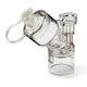 nebulizador de membrana vibrante / con máscara / pediátrico / de un solo uso