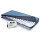colchón para cama médica / con rotación lateral / de baja pérdida de aire / antiescaras