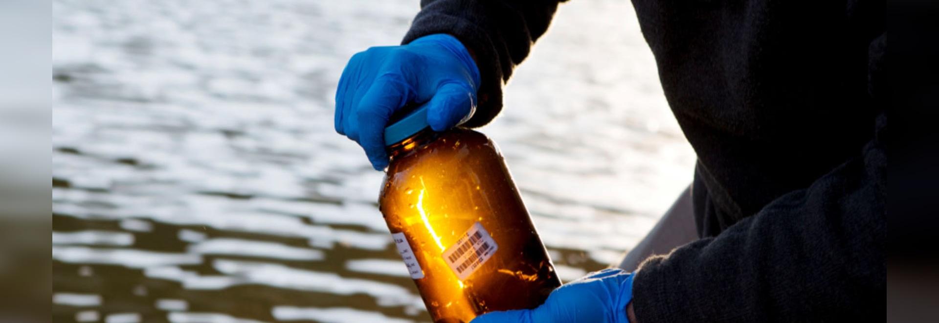 Las botellas simplifican el seguimiento, transporte de muestras