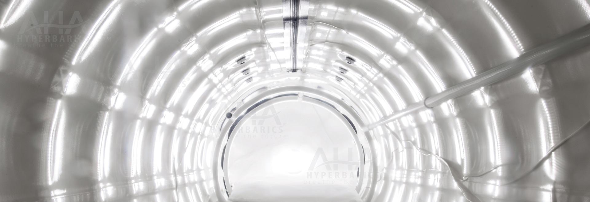 Cámara hiperbárica de la flexión de AHA
