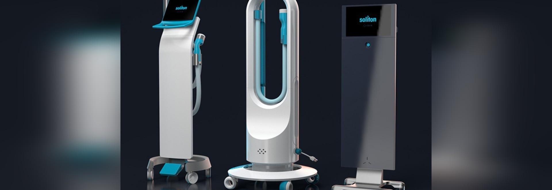 Dispositivo acústico de la onda de choque del Soliton a ayudar en retiro del tatuaje