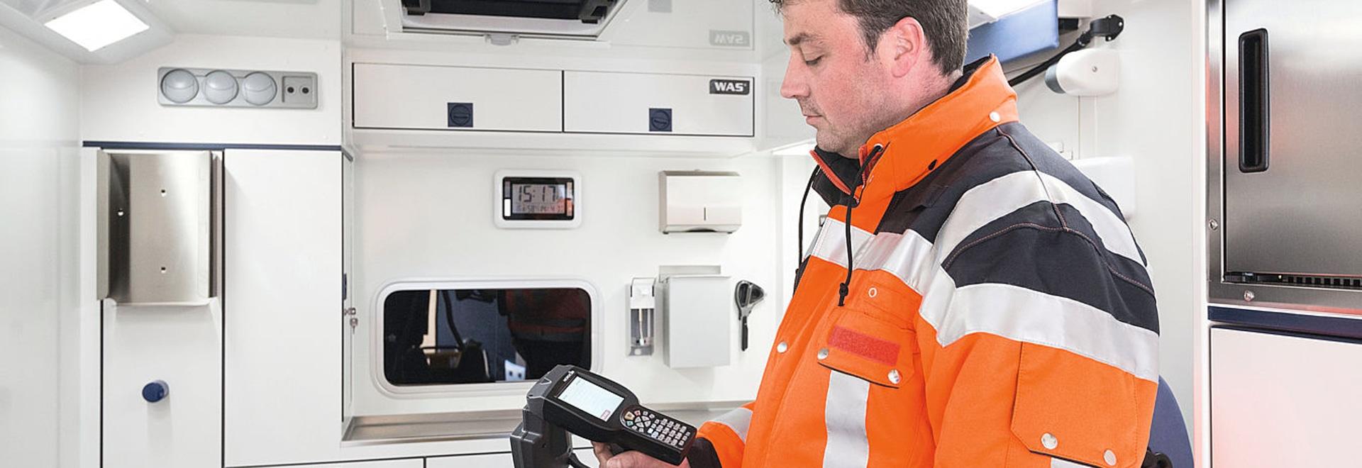 ERA el cheque elegante: Controlar el equipo por tecnología de RFID