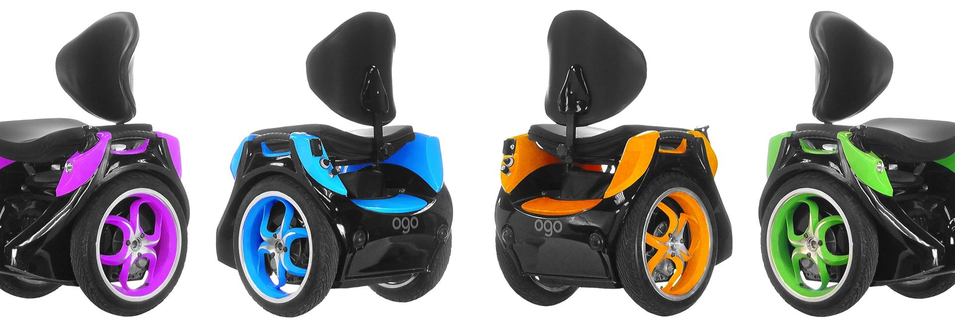 Evolución de Omeo 1 silla de ruedas para las aventuras campo a través