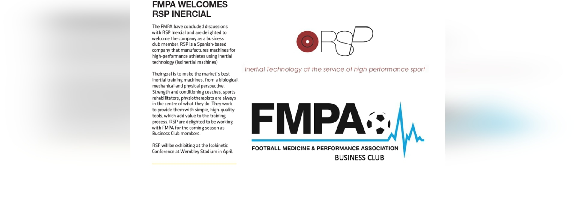 La FMPA se complace en dar la bienvenida al RSP