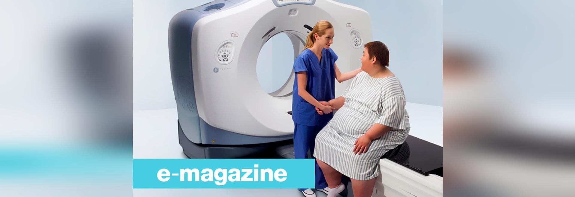 Hospitales extragrandes su equipo para hacer frente a la obesidad Rate Rise