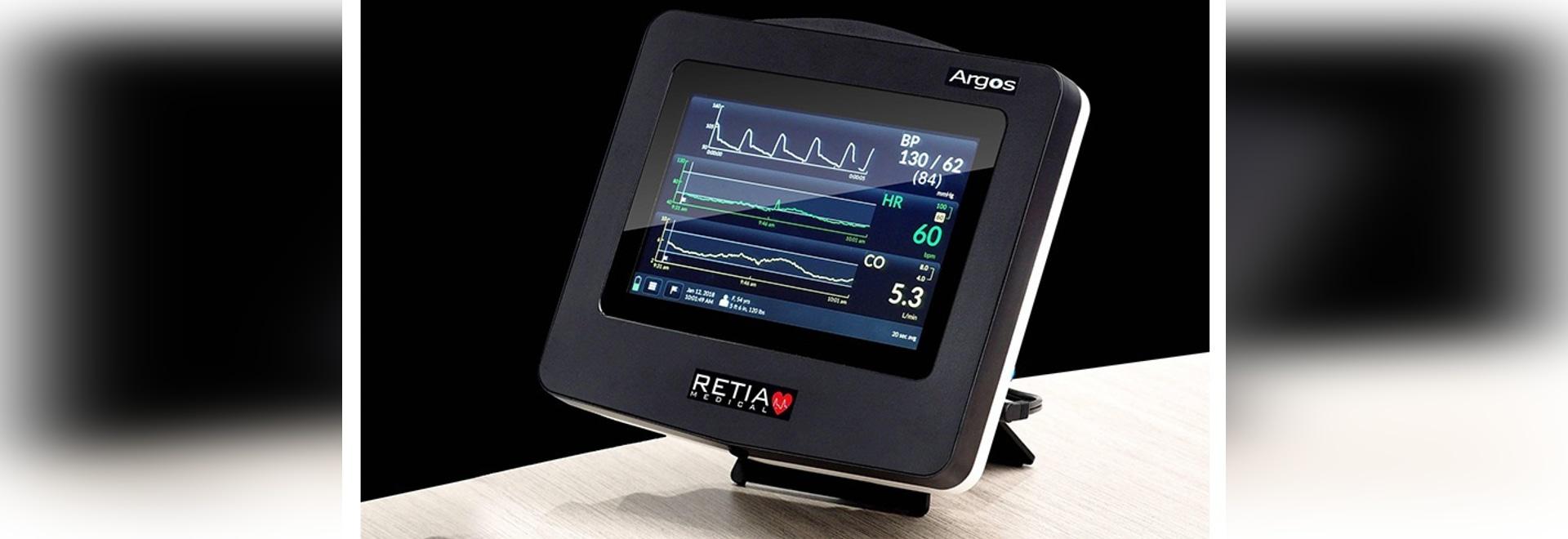 Monitor del volumen cardiaco de Argos ahora disponible en los E.E.U.U.
