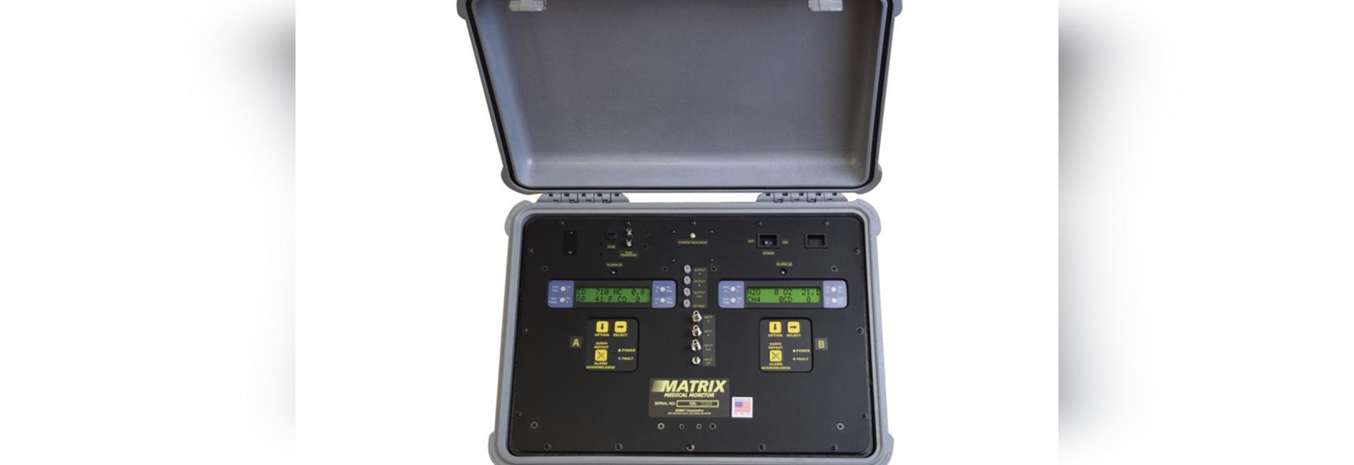 El multidetector analiza el gas médico