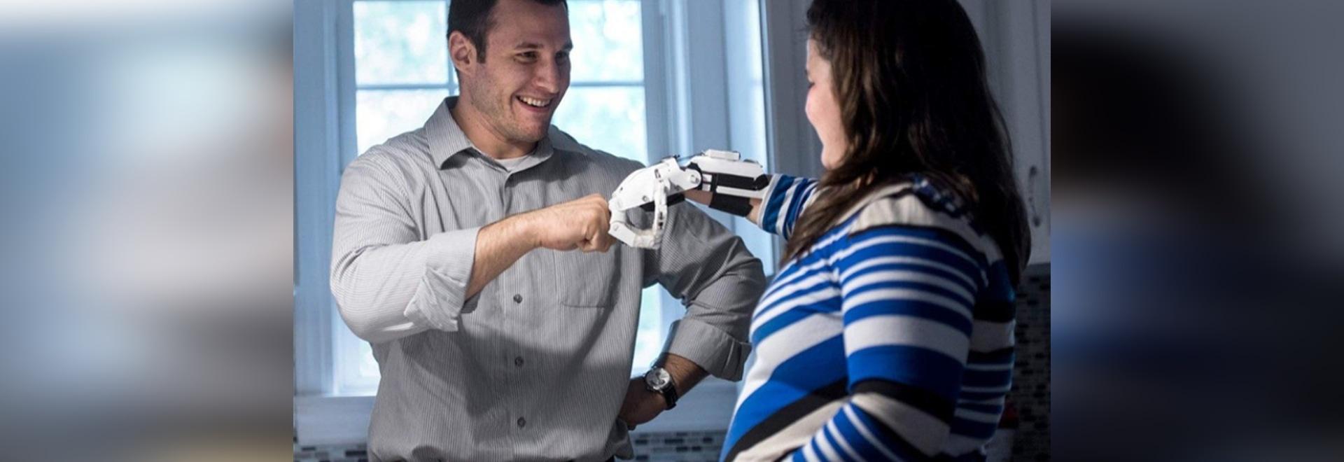 Prótesis personalizadas impresas en 3D con sensores integrados para mejorar la función y el confort