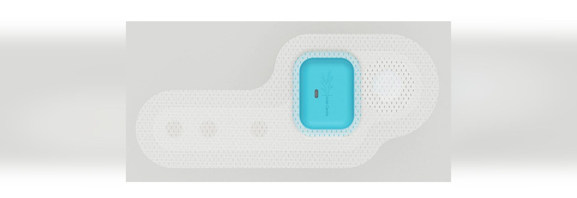 Remiendo con los monitores no tóxicos ECG, oxígeno de la sangre, actividad física de la batería