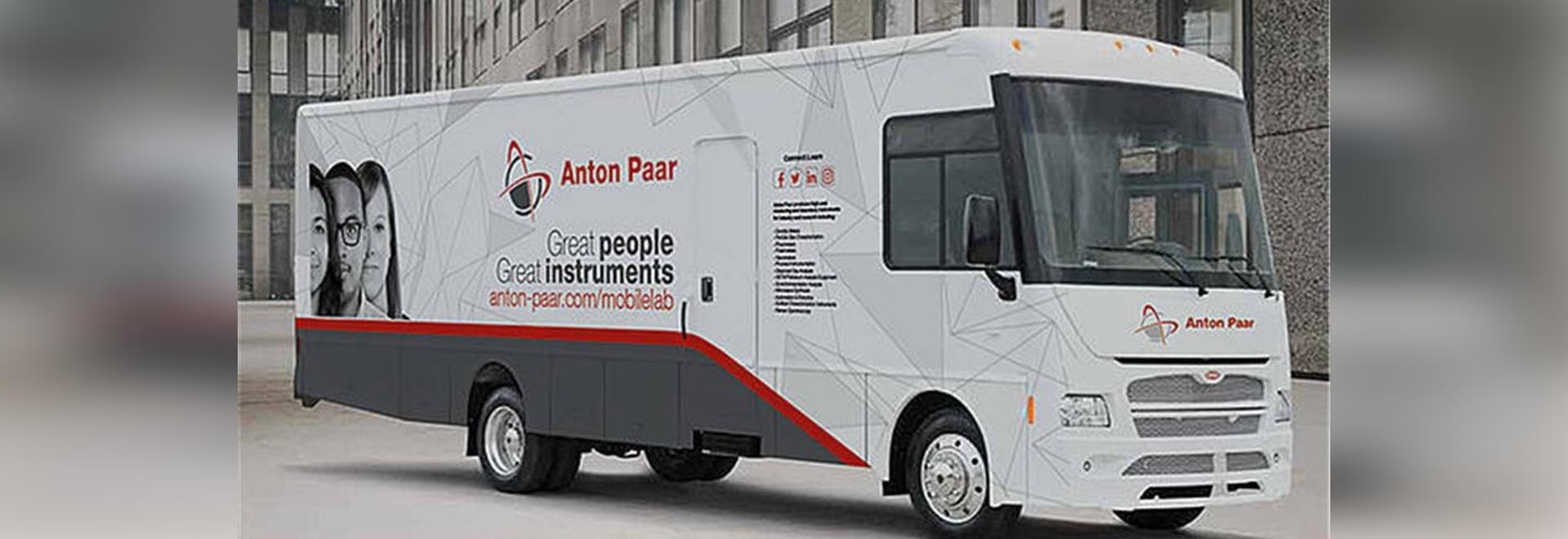 Soluciones de Anton Paar Mobile Lab Bringing a usted