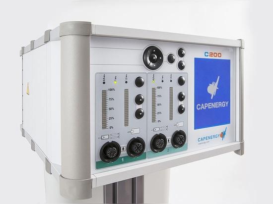 Dispositivo pequeño y práctico, de gran alcance de Tecartherapy de Capenergy