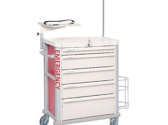 ¡No es una cuestión de tamaño! Consiga la prueba en ARABHEALTH con las nuevas carretillas médicas de EOLIS 600x400 por VILLARD