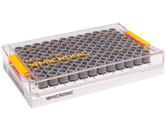 Tubo de almacenamiento del bajo volumen para los usos Genomic