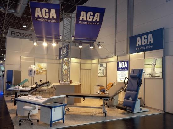 AGA Sanitätsartikel mira detrás en la participación acertada 2017 de MEDICA