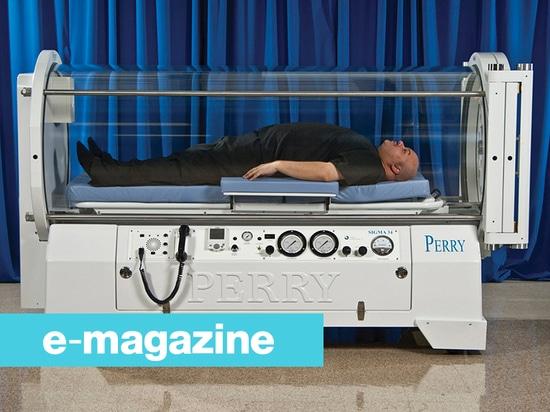 Una cámara hiperbárica para los pacientes hasta 320 kilogramos
