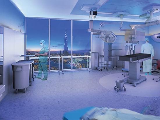 Prototipo/arquitectura y atención a los pacientes de la sala de operaciones