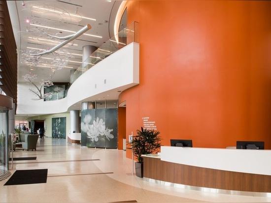 La torre de la ESPERANZA en el centro médico de la universidad de Jersey Shore recibe el premio que dirige distinguido 2018