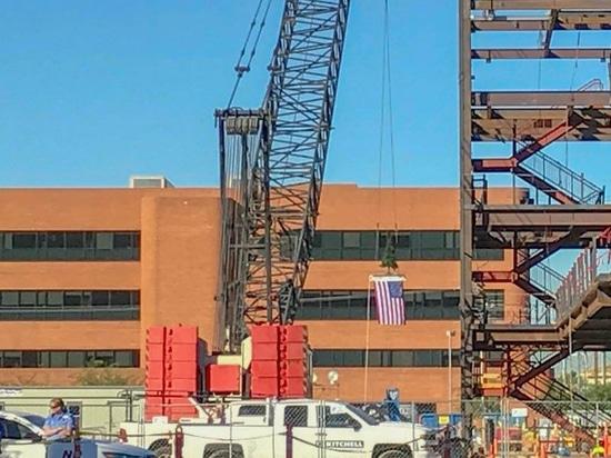 El centro del cáncer del paciente no internado de la bandera remata apagado en Phoenix