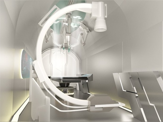 Sydney basó el estudio HDR desarrolla un concepto del hospital que volaba para la ayuda humanitaria