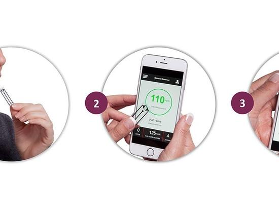 El nuevo biosensor mide exactamente la glucosa en saliva