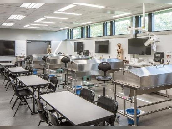 Obispo Gerber Science Center y Eck Hall Renovations, universidad de Newman, Wichita, Kansas