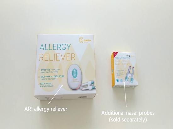 Mitigadores de la alergia con las puntas de prueba de nariz reemplazables