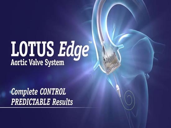 LOTUS Edge, una válvula aórtica transcatéter reposicionable, aprobada en EE.UU.