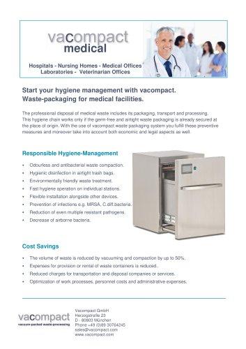 Vacompact 80 Medical