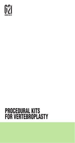 PROCEDURAL KITS FOR VERTEBROPLASTY