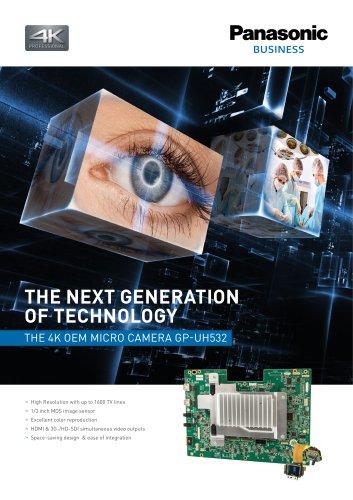 4K OEM Brochure GP-UH532