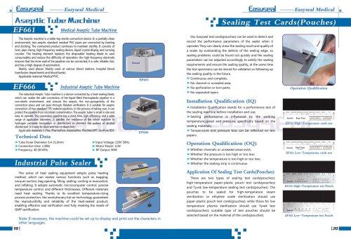 Industrial heat sealing machine