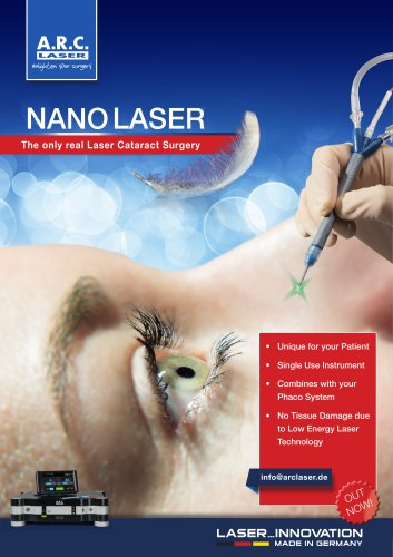 Cetus NanoLaser for Cataract Surgery