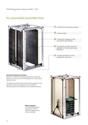 Pcb magazines series 600-700