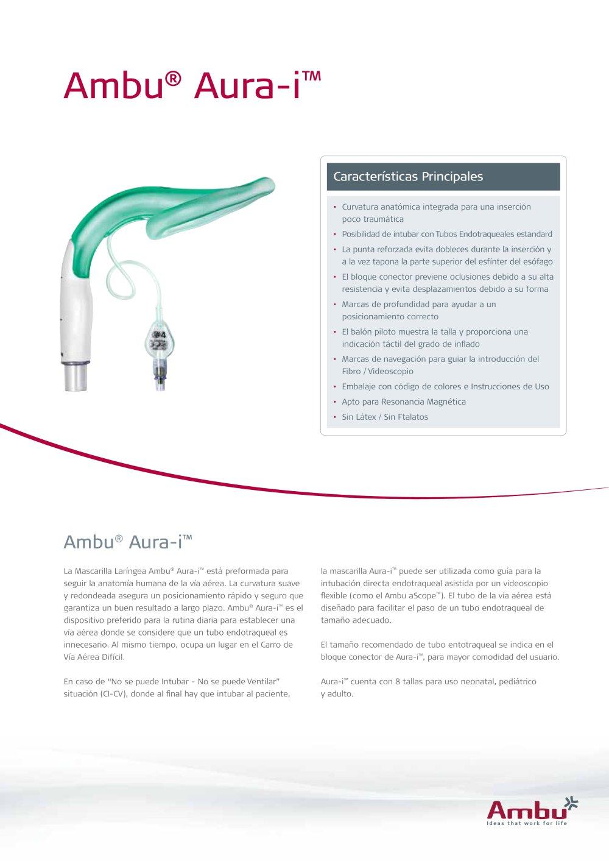 Ambu® Aura-i™ - Ambu - Catálogo PDF | Documentación técnica | Brochure