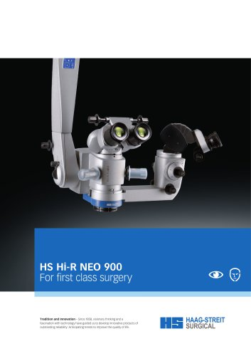 Brochure HS Hi R NEO 900 d