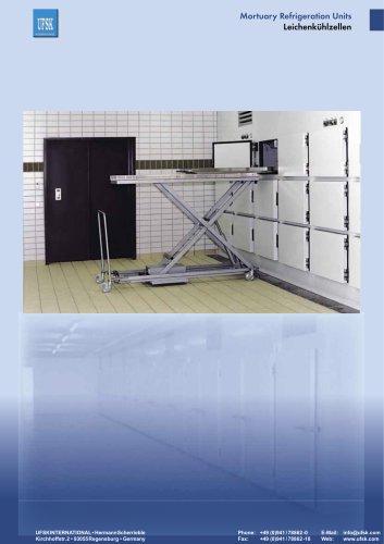 Mortuary Refrigeration Units