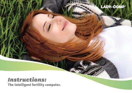 Instructions: The intelligent fertility computer.