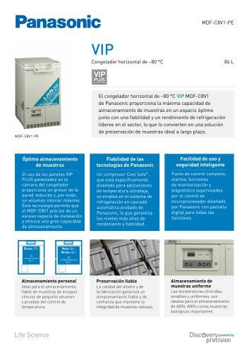 MDF-C8V1 VIP Congelador horizontal de -80°C