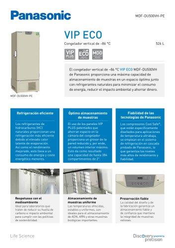MDF-DU500VH VIP ECO Congelador vertical de –86 °C