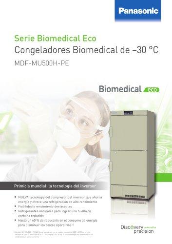 MDF-MU500H Congeladores Biomedical de –30 °C