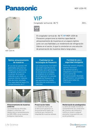 MDF-U33V VIP Congelador vertical de -86 °C