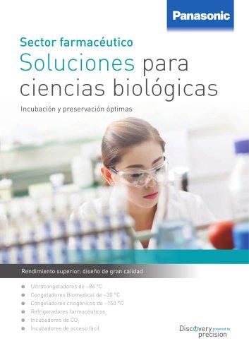 Sector farmacéutico Soluciones para ciencias biológicas