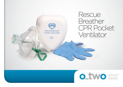 Rescue Breather CPR Pocket Ventilator