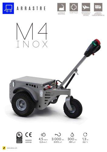M4 Tractor de arrastre acero inoxidable