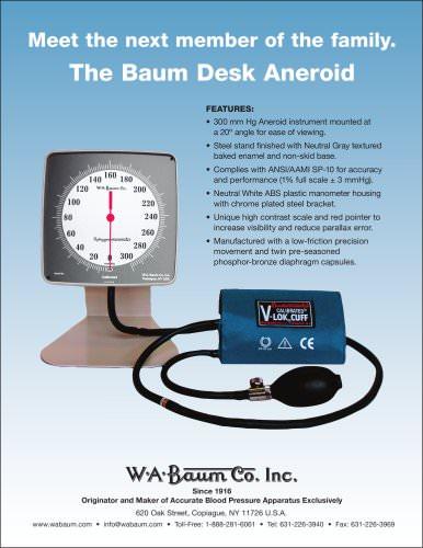 The Baum Desk Aneroid