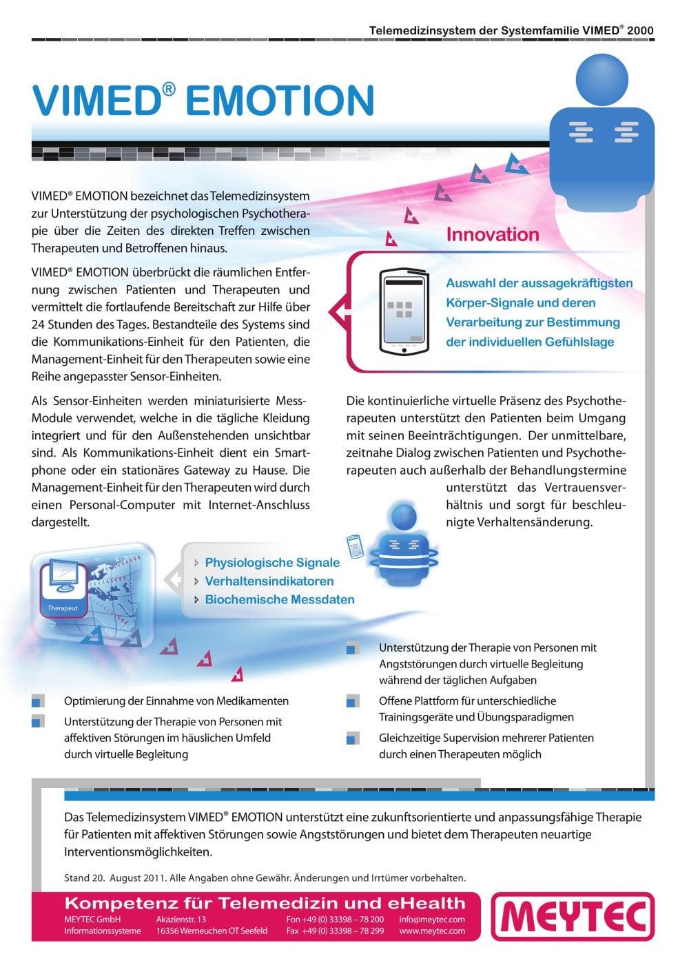 VIMED® EMOTION - MEYTEC - Catálogo PDF | Documentación técnica ...