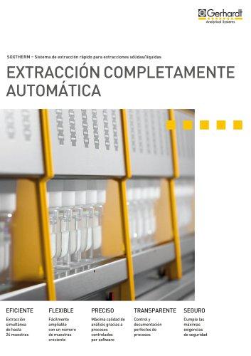 Sistemas automáticos para extracción SOXTHERM